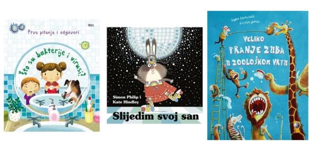 Tri edukativne i zabavne slikovnice koje će djeca obožavati