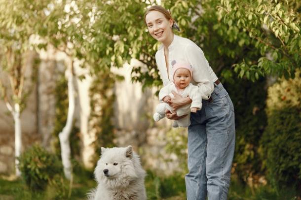 psi i djeca pas i beba