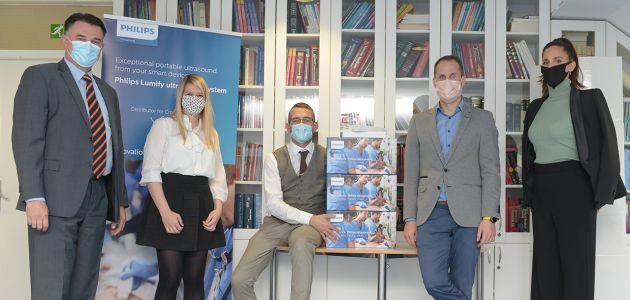 Arbor Medical daruju osam prijenosnih ultrazvuka ustanovama diljem Hrvatske