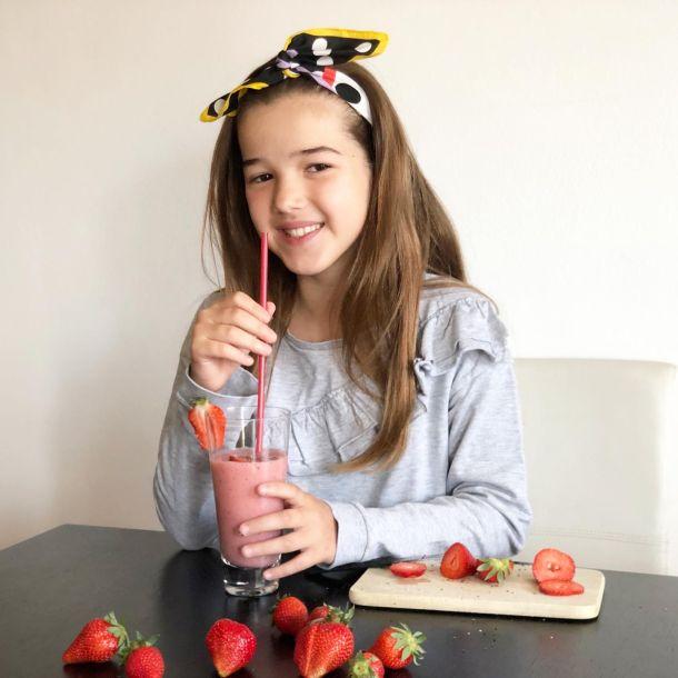 smoothie od jagode za djecu