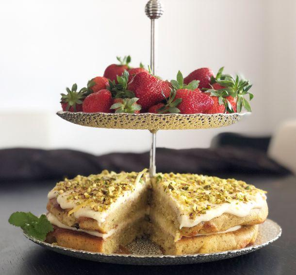torta od pistacija i limuna