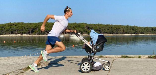 Maraton s mališanima u kolicima