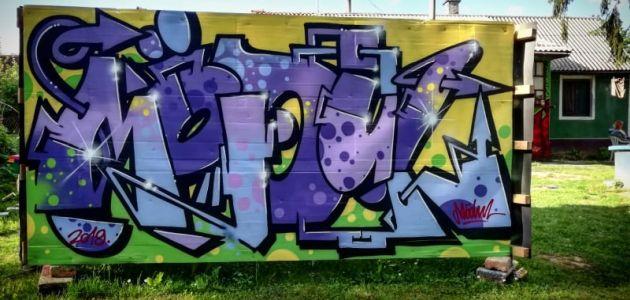 Graffiti tečaj za djecu osnovnoškolce u svibnju