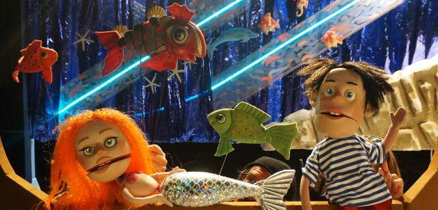 "Online  lutkarska predstava ""Mala sirena i dječak Roko"" premijerno povodom Dana planete Zemlje"