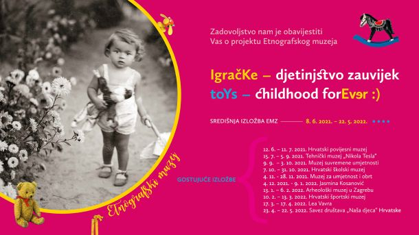 Etnografski muzej za djecu Igracke_djetinjstvo zauvijek najava projekta