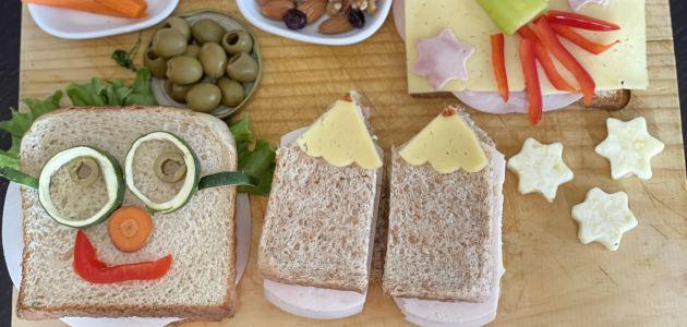 "5 zabavnih sendviča s ""karakterom"" za sretan polazak u školske klupe"