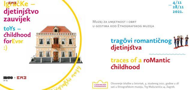 Otvorenje izložbe Tragovi romantičnog djetinjstva