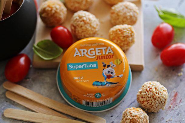 obrok za djecu recept Argeta Junior Pops