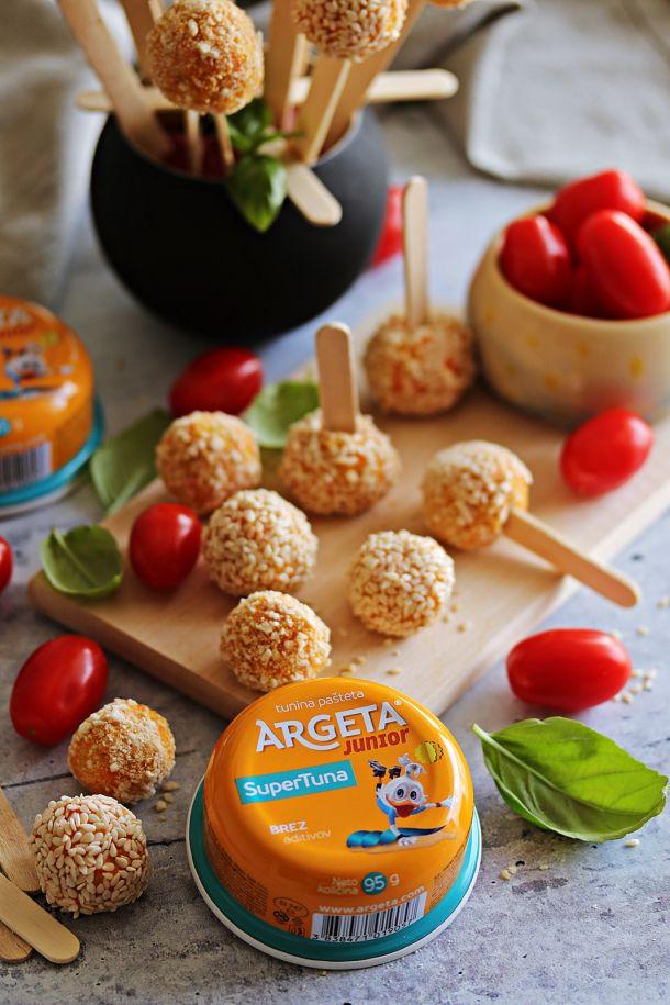 tuna Argeta Junior Pops snack